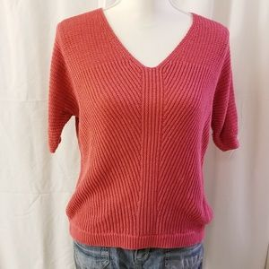 CHAPS V Neck Sweater